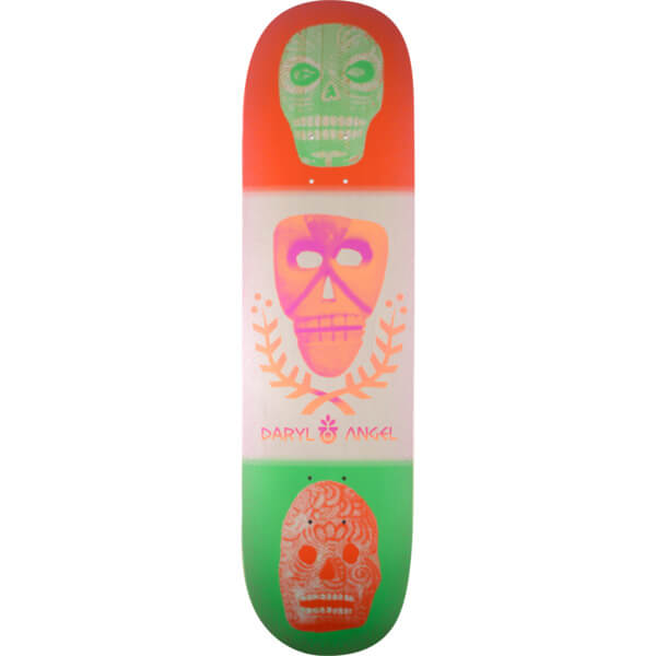 Habitat Skateboards Daryl Angel Skull Stack Deck