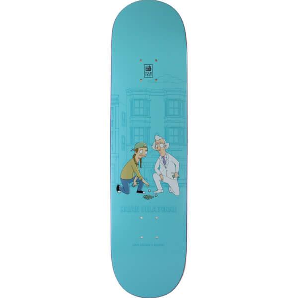 "Habitat Skateboards Brian Delatorre Bob's Burgers Skateboard Deck - 8.12"" x 32.125"""