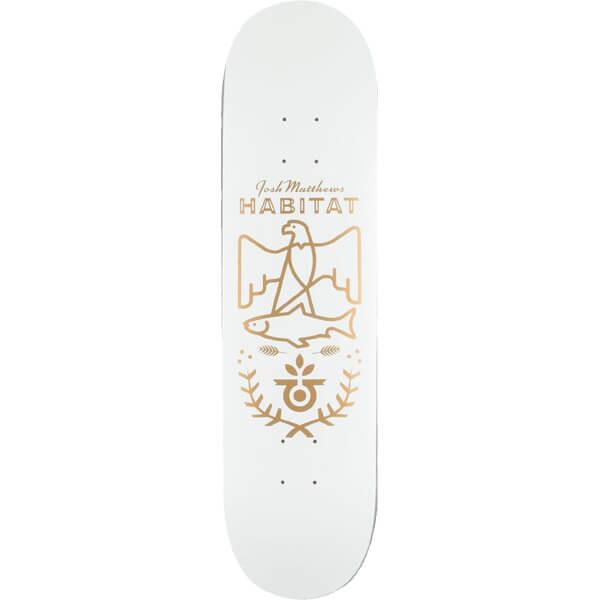 Habitat Skateboards Mathews Gold Seal Deck