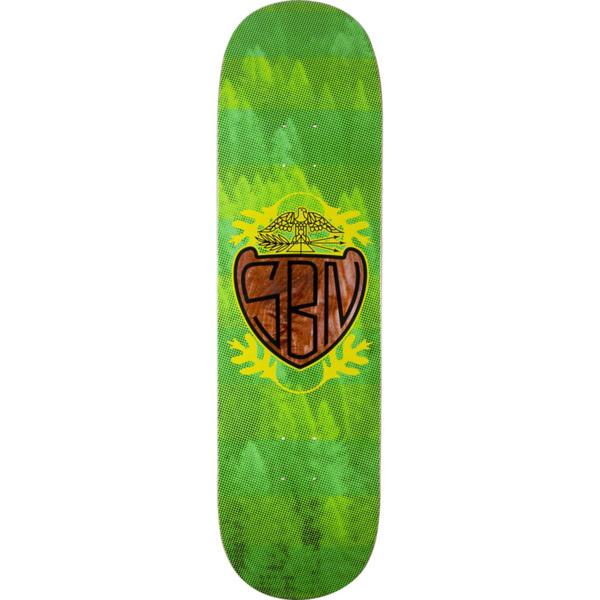 """Habitat Skateboards S.B.N. Crest Skateboard Deck - 8.5"""" x 32.25"""""""