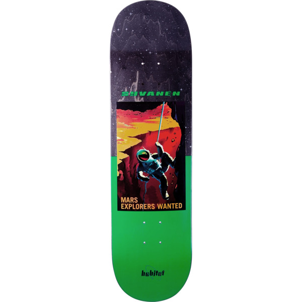 "Habitat Skateboards Marius Syvanen NASA Skateboard Deck - 8.37"" x 32.75"""