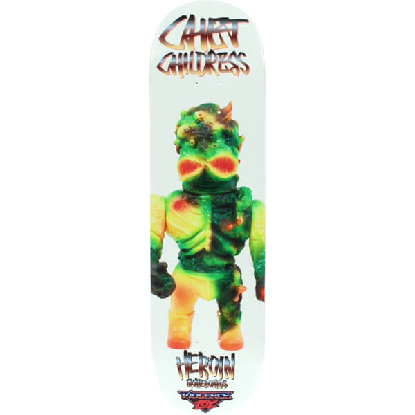 Heroin Skateboards Violence Toy Deck