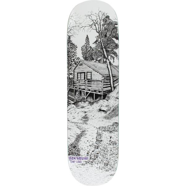 "Heroin Skateboards Tony Karr Cabin II Skateboard Deck - 8.38"" x 32.25"""
