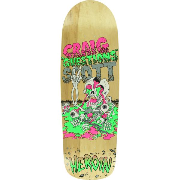 """Heroin Skateboards Questions Slim Boy Skateboard Deck - 10"""" x 32.12"""""""