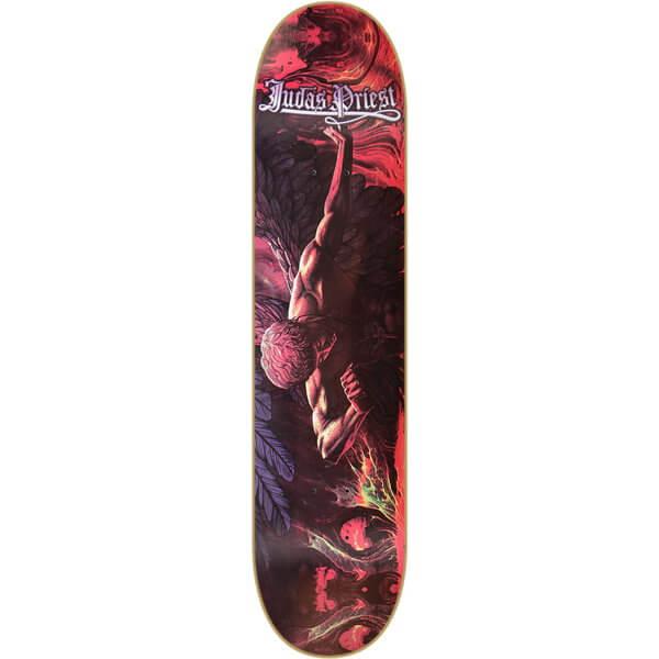 Heavy Metal Skateboards Judas Priest Sad Wings Deck