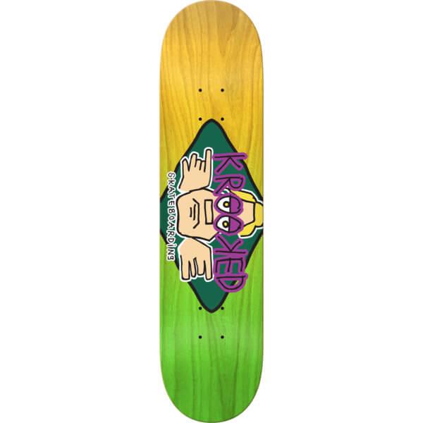 Krooked Skateboards Arketype Fade LG Deck