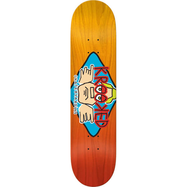 Krooked Skateboards Arketype Fade XL Deck