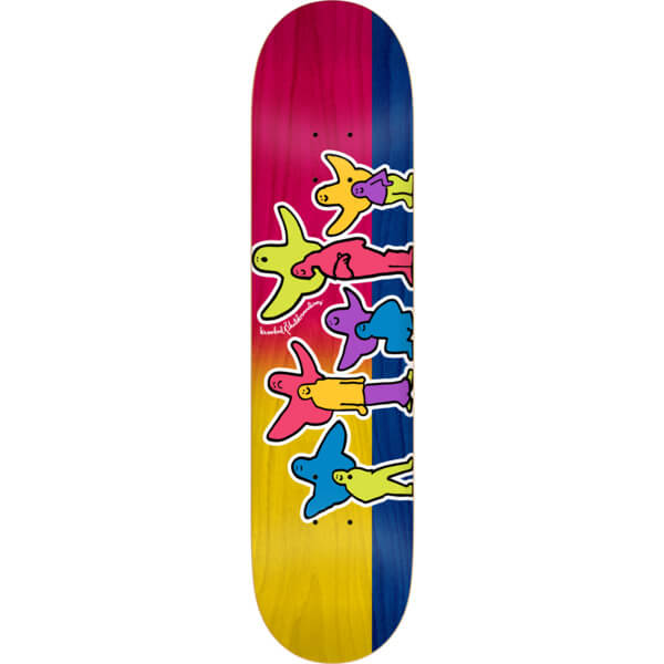 "Krooked Skateboards Pet Klub Skateboard Deck - 8.5"" x 32.62"""