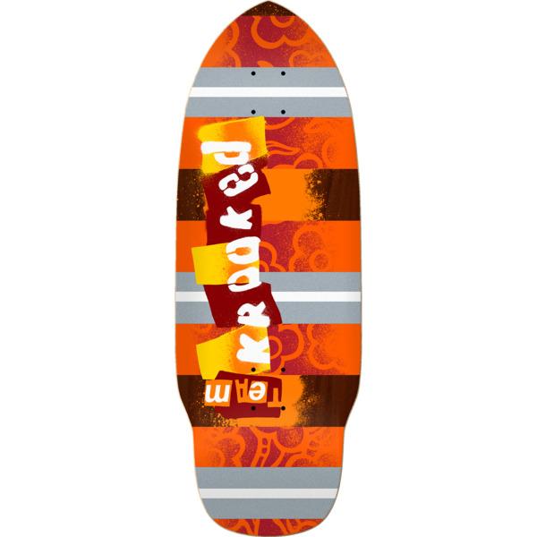 "Krooked Skateboards Rat Stick Redux Skateboard Deck - 10.2"" x 29.3"""