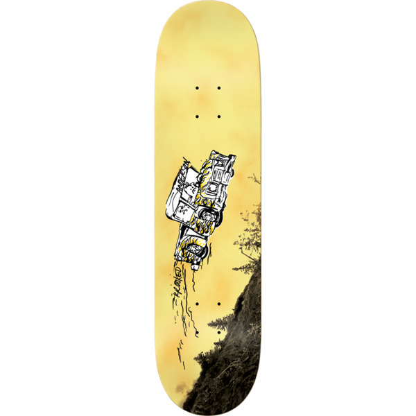 "Krooked Skateboards Mike Anderson Fifty Yards Skateboard Deck - 8.5"" x 32.18"""