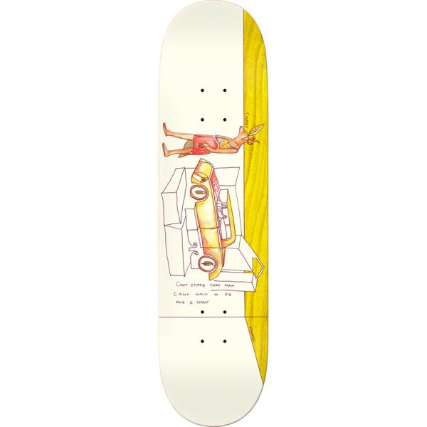 "Krooked Skateboards Brad Cromer Deer Skateboard Deck - 8.06"" x 31.8"""