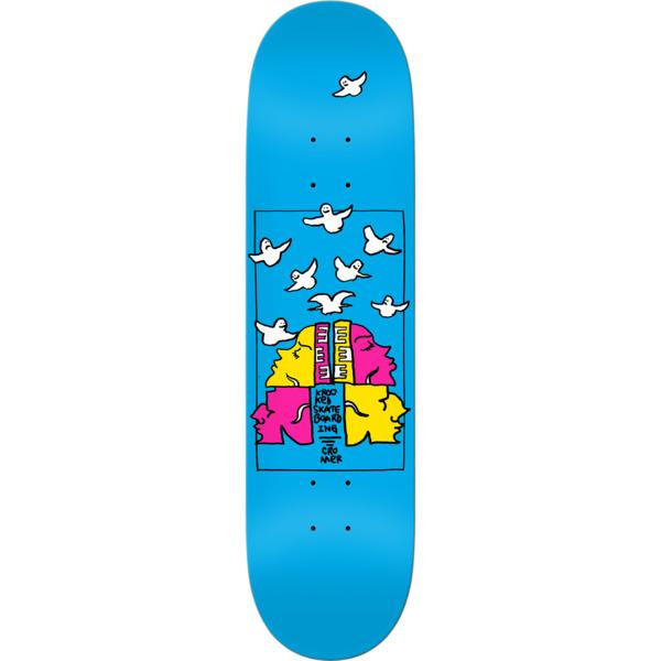 "Krooked Skateboards Brad Cromer Qwatro Skateboard Deck - 8.06"" x 31.97"""