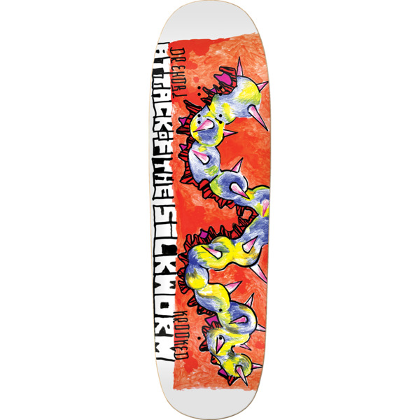"""Krooked Skateboards Dan Drehobl Sickworm Skateboard Deck - 9.25"""" x 31.85"""""""