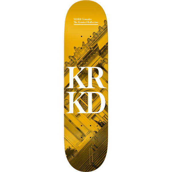 "Krooked Skateboards Mark Gonzales Kollection Skateboard Deck - 8.38"" x 32.43"""