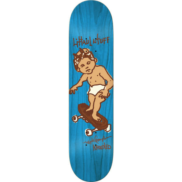 Krooked Skateboards Tuff Stuff Deck
