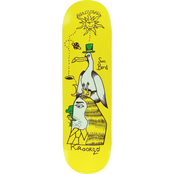 "Krooked Skateboards Ronnie Sandoval Sunbird Skateboard Deck - 8.5"" x 31.8"""