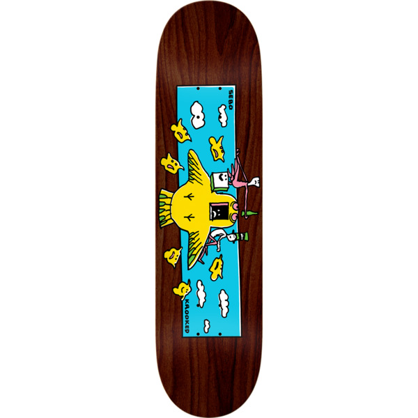 """Krooked Skateboards Sebo Walker Hi Flyer Skateboard Deck - 8.38"""" x 32.43"""""""
