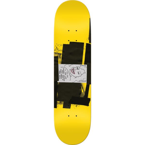 "Krooked Skateboards Bobby Worrest Barbra Twintail Slick Skateboard Deck - 8.3"" x 31.9"""