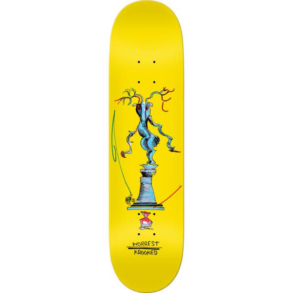 "Krooked Skateboards Bobby Worrest Buck Skateboard Deck - 8.5"" x 31.85"""