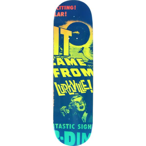 Lurkville Skateboards Space Lurker Alien Eye Deck
