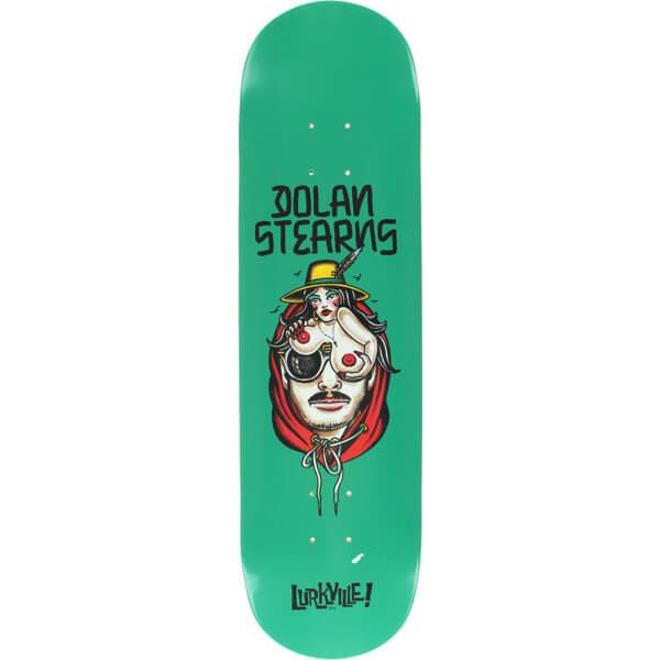 "Lurkville Skateboards Dolan Stearns TT Pro Skateboard Deck - 8.25"" x 32"""