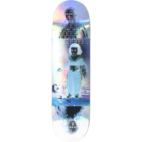"Madness Skateboards Manvel Infant Holographic Skateboard Deck Resin-7 - 8.75"" x 32.9"""