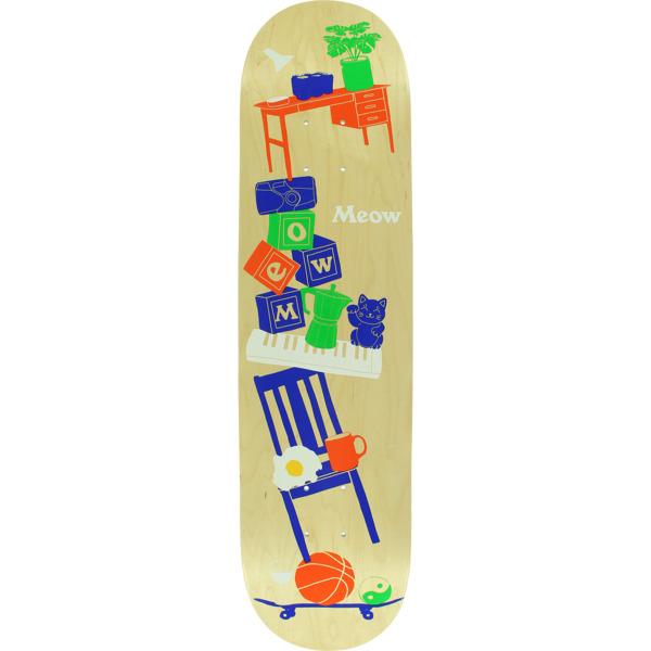 """Meow Skateboards Precarious Skateboard Deck - 7.75"""" x 31.625"""""""