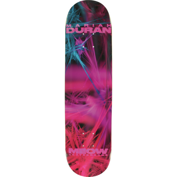 "Meow Skateboards Mariah Duran Fractual Skateboard Deck - 7.75"" x 31.625"""