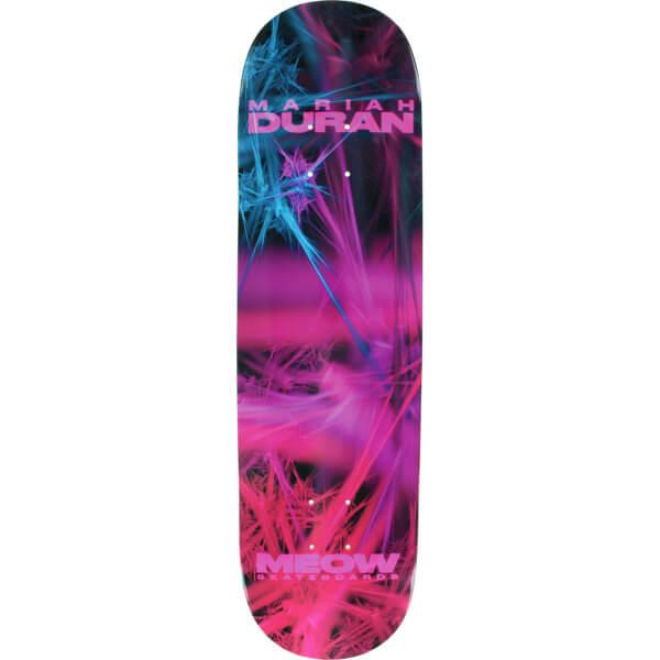 "Meow Skateboards Mariah Duran Fractual Skateboard Deck - 8.25"" x 32.125"""