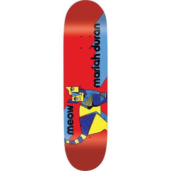 "Meow Skateboards Mariah Duran Kip Skateboard Deck - 7.75"" x 31.625"""