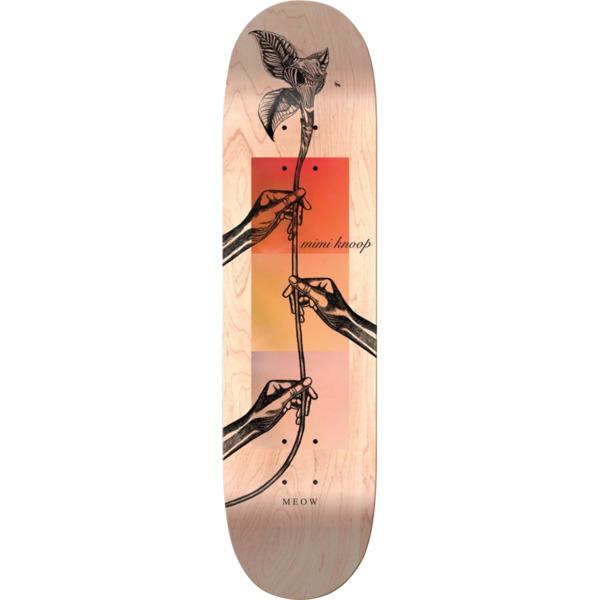 "Meow Skateboards Mimi Knoop Skateboard Deck - 8"" x 31.75"""