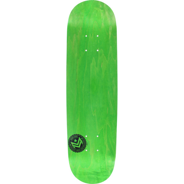"Mini Logo Chevron Stamp Green Skateboard Deck 191 - 7.5"" x 31.375"""