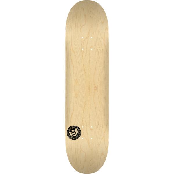 "Mini Logo Chevron Stamp Natural Skateboard Deck 191 - 7.5"" x 31.375"""