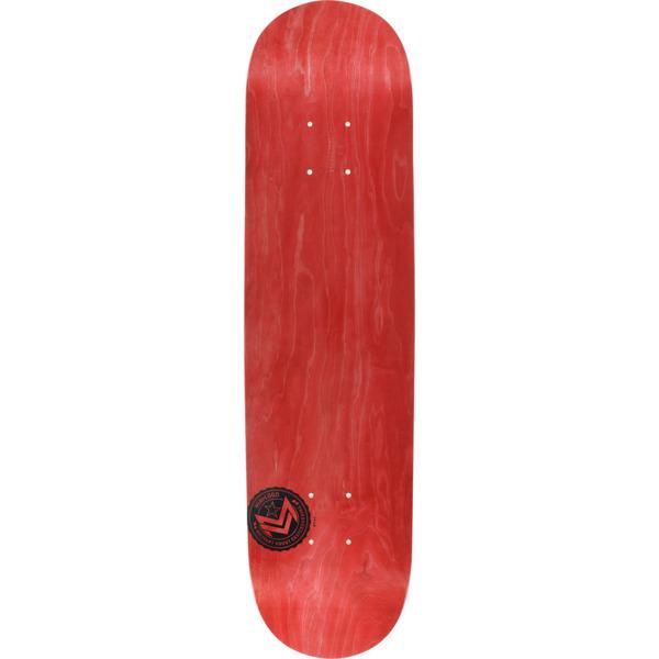 "Mini Logo Chevron Stamp Red Skateboard Deck 191 - 7.5"" x 31.375"""