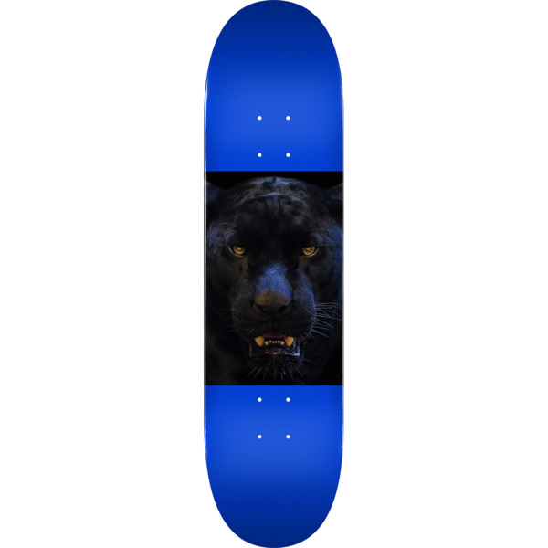 "Mini Logo Animal Panther Eyes Navy Skateboard Deck 255 - 7.5"" x 30.7"""