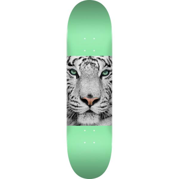 "Mini Logo Animal Tiger Eyes Mint Skateboard Deck 255 - 7.5"" x 30.7"""