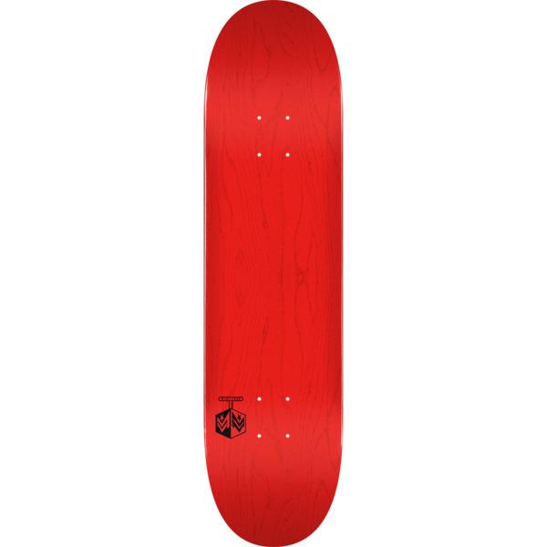 "Mini Logo Chevron Detonator Red Skateboard Deck 255/K-20 - 7.5"" x 30.7"""