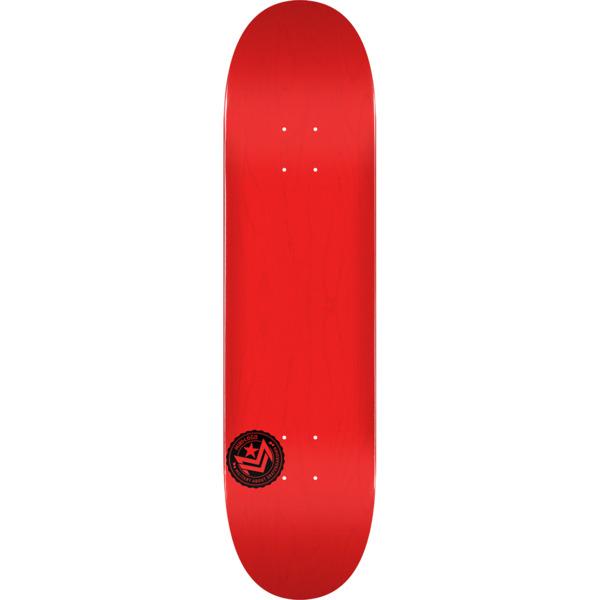 "Mini Logo Chevron Stamp Red Skateboard Deck 291 - 7.75"" x 31.08"""