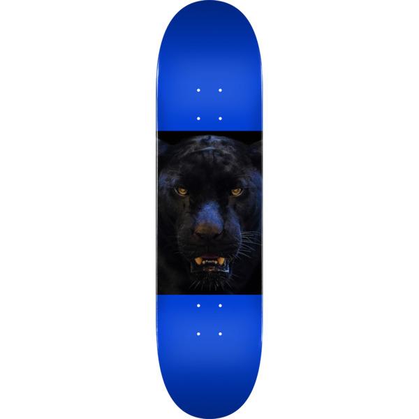 """Mini Logo Animal Panther Eyes Navy Skateboard Deck 242 - 8"""" x 31.45"""""""