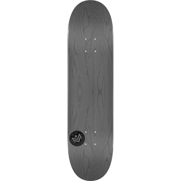 "Mini Logo Chevron Stamp Grey Skateboard Deck 243 - 8.25"" x 31.95"""