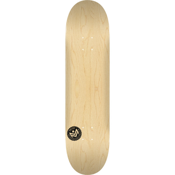 "Mini Logo Chevron Stamp Natural Skateboard Deck 243 - 8.25"" x 31.95"""