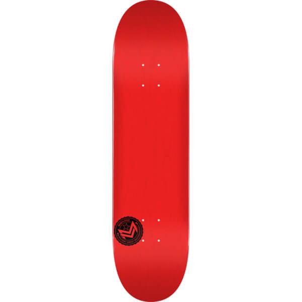 "Mini Logo Chevron Stamp Red Skateboard Deck 248 - 8.25"" x 32.5"""
