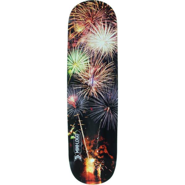 """Mini Logo Small Bomb Fireworks Skateboard Deck 181 - 8.5"""" x 33.5"""""""