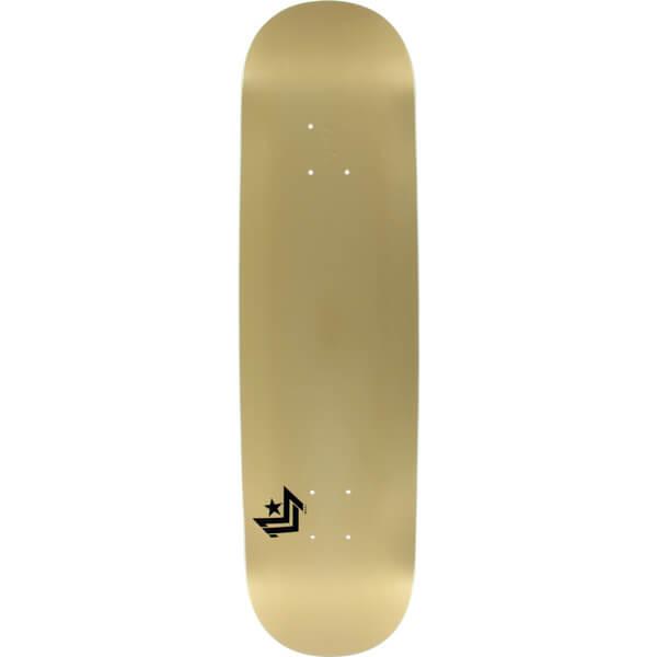 "Mini Logo Chevron Gold Skateboard Deck 250 - 8.75"" x 33"""