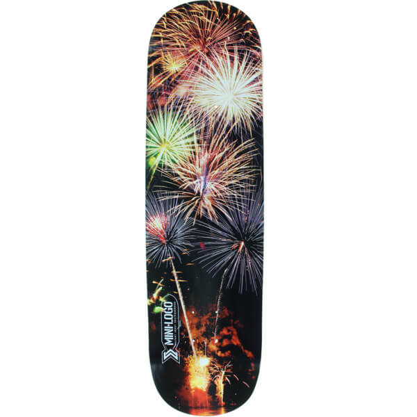 """Mini Logo Small Bomb Fireworks Skateboard Deck 250 - 8.75"""" x 33"""""""