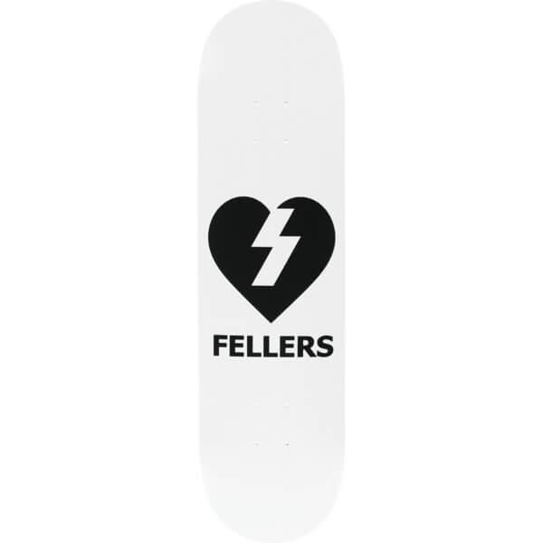"""Mystery Skateboards Sierra Fellers Heart Skateboard Deck - 8.125"""" x 32"""""""