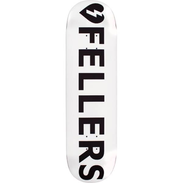 Mystery Skateboards Sierra Fellers Logo White Skateboard ... Mystery Skateboards Logo