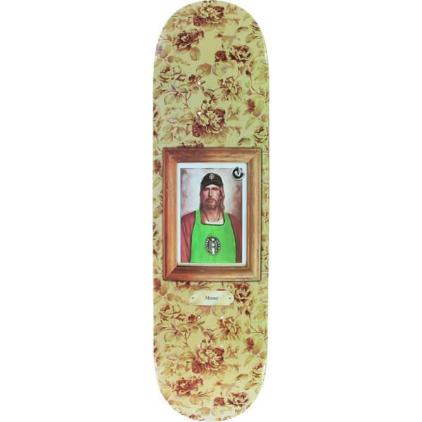 """Mystery Skateboards Moose Portrait Skateboard Deck - 8.25"""" x 32.25"""""""