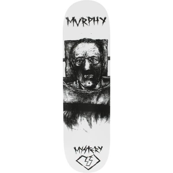 """Mystery Skateboards Dan Murphy Horror Skateboard Deck - 8.25"""" x 32.25"""""""