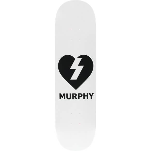 """Mystery Skateboards Dan Murphy Heart Skateboard Deck - 8.25"""" x 32.25"""""""